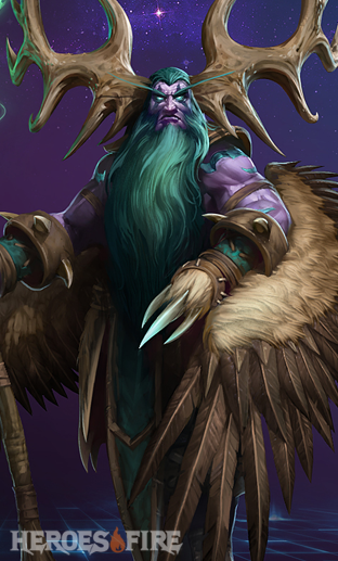 Malfurion Build Guides Heroes Of The Storm Hots Malfurion Builds On Heroesfire Increase moonfire's reveal duration by 3 seconds. malfurion build guides heroes of the
