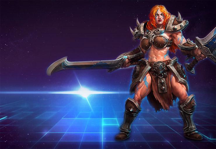 Sonya Heroes Of The Storm Build