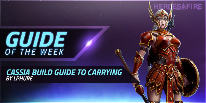 Guide Of The Week Cassia Build Guide To Carrying By Lphure Heroes Of The Storm Discussion On Heroesfire After taking 650 damage with avoidance active, cassia can activate avoidance to deal 240 damage to enemies around her. week cassia build guide to carrying